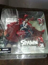 Spawn figure. Series 24 issue 39 Fresno, 93704