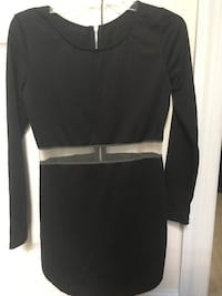 New Black Bodycon Dress With Mesh Insert Ellicott City, 21043
