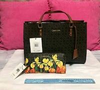 Brown Calvin Klein Purse and Wallet Fort Lauderdale, 33309
