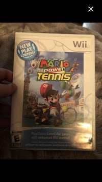 Wii Mario power tennis  mint condition last deal 8$ !!last chance Montréal, H4E 1M5
