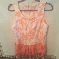 Cute peach coral women's sleeveless top shirt blouse tank by New York & Co Antioch, 94531