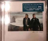 For king & Country new unopened CD Mount Airy, 21771