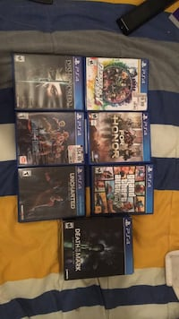 ps4 games only 80 dollars for all of them El Paso, 79915
