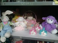 Easter Decorative Items and Plush