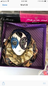 Marti Gras masks and more like these Olive Branch, 38654