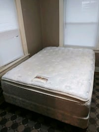 white and gray floral mattress Kansas City