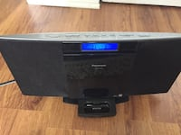 Black panasonic dock speaker