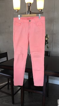 Size 8 - American Eagle - Coloured Jegging - Neon Coral  Hull, J8X