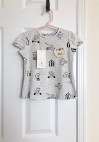 Zara baby girl circus tee size 2-3T- New with tags Mississauga, L5M 0C5
