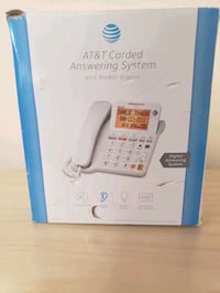 At&t corded answering system  Sunbury, 17801