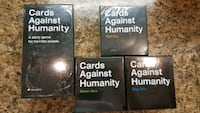 Cards Against Humanity V2.0 Full Set  Cambridge, N1R 8P5