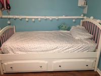 Twin size bed with trundle 802 mi