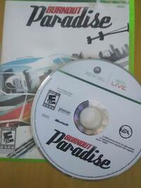 Xbox 360 BURNOUT PARADISE Lake Forest