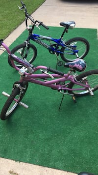 Boy and Girl Mongoose BMX bikes - $40 each or best offer for pair Houston, 77064