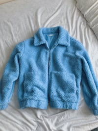 Blue teddy Sherpa jacket Mississauga, L5N 3S6