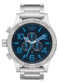Nixon Watch Silver/Blue accents 51-30 CHRONO Toronto, M5V