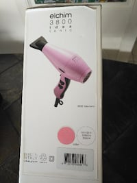 Elchim 3800 Pink 2000W Hair Dryer Toronto