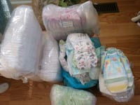 baby's assorted color diapers Newport News, 23601