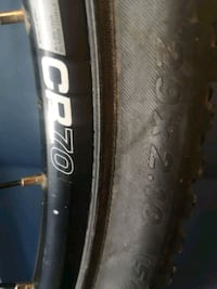 Giant 29 x 2.5 tire on cr70 rim with gears