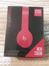 New sealed Beats Solo HD color drenched - wired not wireless with mic Ashburn, 20147