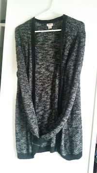 Black cardigan size xl