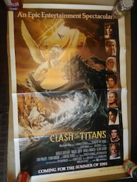 Clash of the titans 1981 movie poster Syracuse, 13212