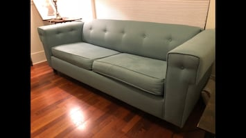 Must sell custom couch hide-a-bed sofa