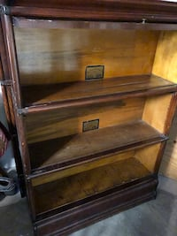 Two Globe and Wernicke Lawyers bookshelves / bookcase