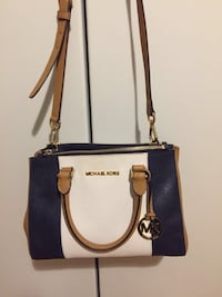 Tote bag 2 vie in pelle Michael Kors bianca e marrone San Secondo Parmense, 43017