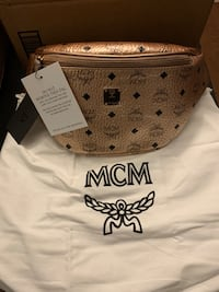 MCM Champagne Gold Belt Bag  Hyattsville, 20781