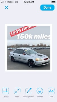 1999 Honda Civic VALUE PACKAGE 4AT Fairmount Heights