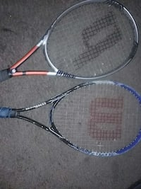 two unpaired tennis rackets Baltimore, 21216