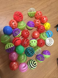 Cat ball toys lot 33 Toronto, M9N 2S7