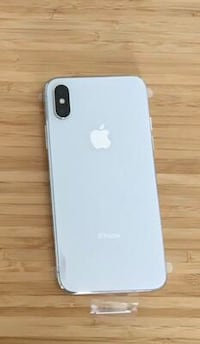 iPhone X silver 256gb +Apple care Coquitlam, V3J