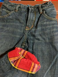 Boys gap flannel lined jeans size 10 like new Knoxville, 37934