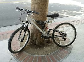 """24"""" Mountain bike, lot of shimano upgraded parts."""