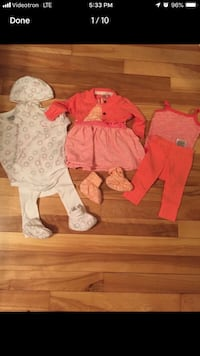 Toddler's assorted clothes Laval, H7W 2H5