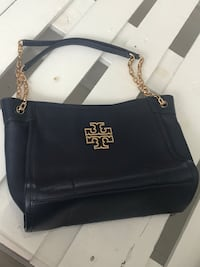 Tory Burch Britten Slouchy Tote - New in Navy Blue