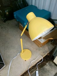 Retro hipster yellow desk lamp Monroe, 28110