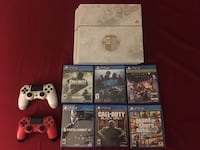 PS4 and games combo (not interested in trading or splitting up the combo) Menifee, 92584