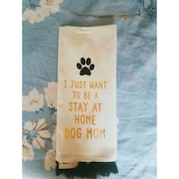 I just want to be a stay at home dog mom towel Kissimmee, 34743