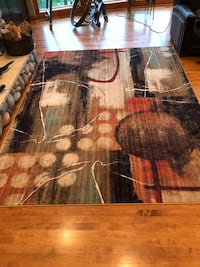 Contemporary rug. In great condition Elkhorn, 68022