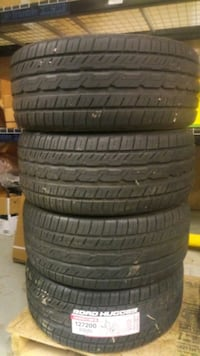 Road huggers set of tires all 4 are new
