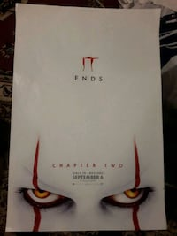 IT: Chapter Two (Mini Poster) Toronto, M6H 1P2