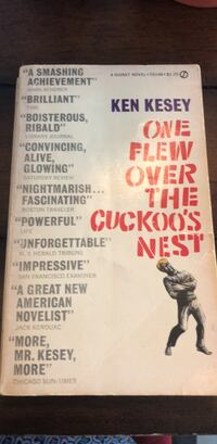 Classic 1962 One Flew Over the Cuckoos Nest Collectable Woodbridge, 22192