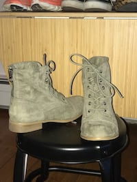 G by Guess olive green boots