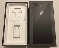 IPHONE 8+ 64GB BLACK. FACTORY UNLOCKED. 10/10 CONDITION Mississauga, L5V 2P2