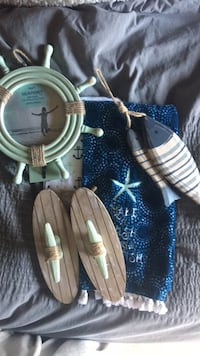 Nautical Bathroom Decor 6 pc. University Place, 98467