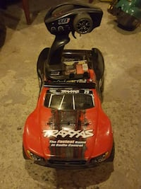 Traxxas Slash 4 x 4 with all the upgrades and ligh Brantford, N3S 4W3