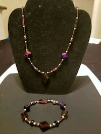 black and pink beaded necklace Anaheim, 92801
